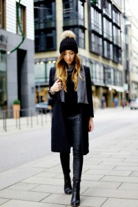This just shows in one outfit, why I love pom-pom hat. Need I saw more?