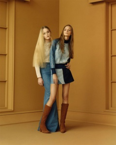Here's a pic from the new Zara spring/summer collection . Says it all when trying to explain that hippie and boho is back.